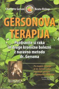 Tanja Turnsek - Gersonova Terapija - Charlotte Gerson - Beata Bishop