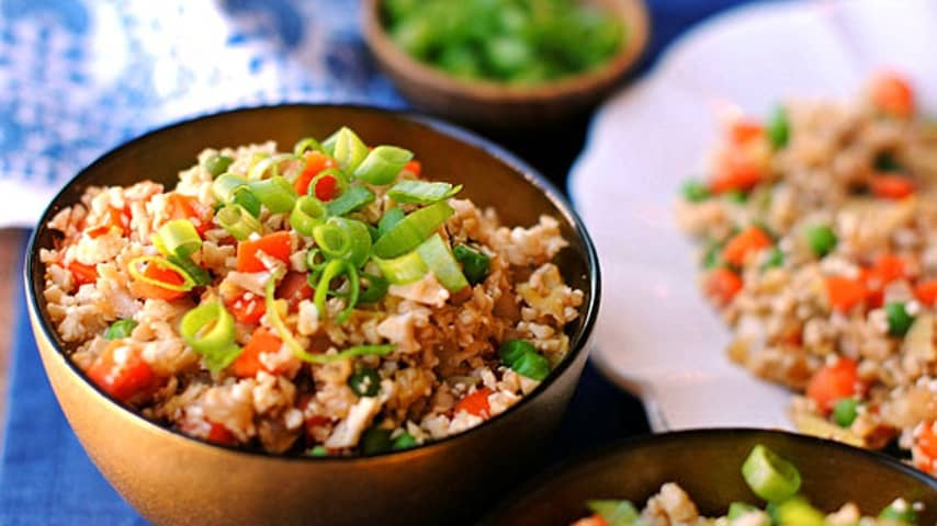 Recept za pražen cvetačni riž