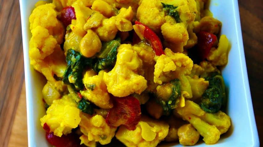 cvetačni curry