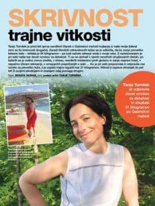 Tanja Turnšek revija Zarja