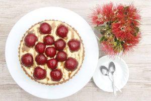 presna tortica različno sadje